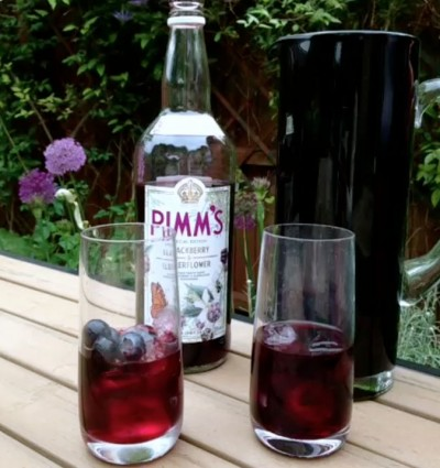 New pimm s blackberry elderflower for What to mix with pimms