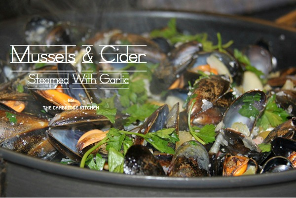 cambridge food tour mussels cider garlic