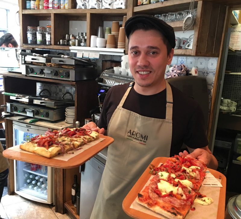 cambridge food tour pizza