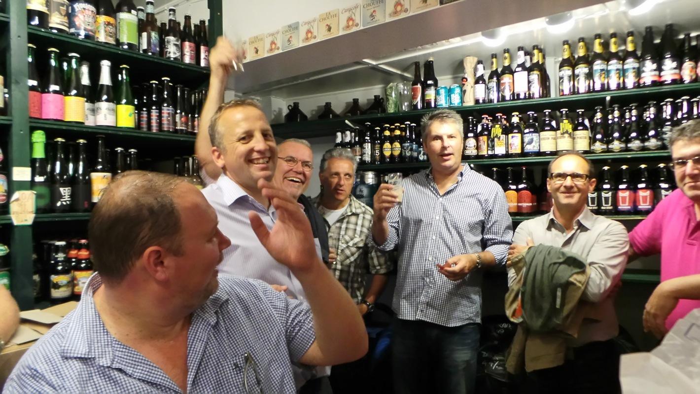 Cambridge Food food tour meet the brewer