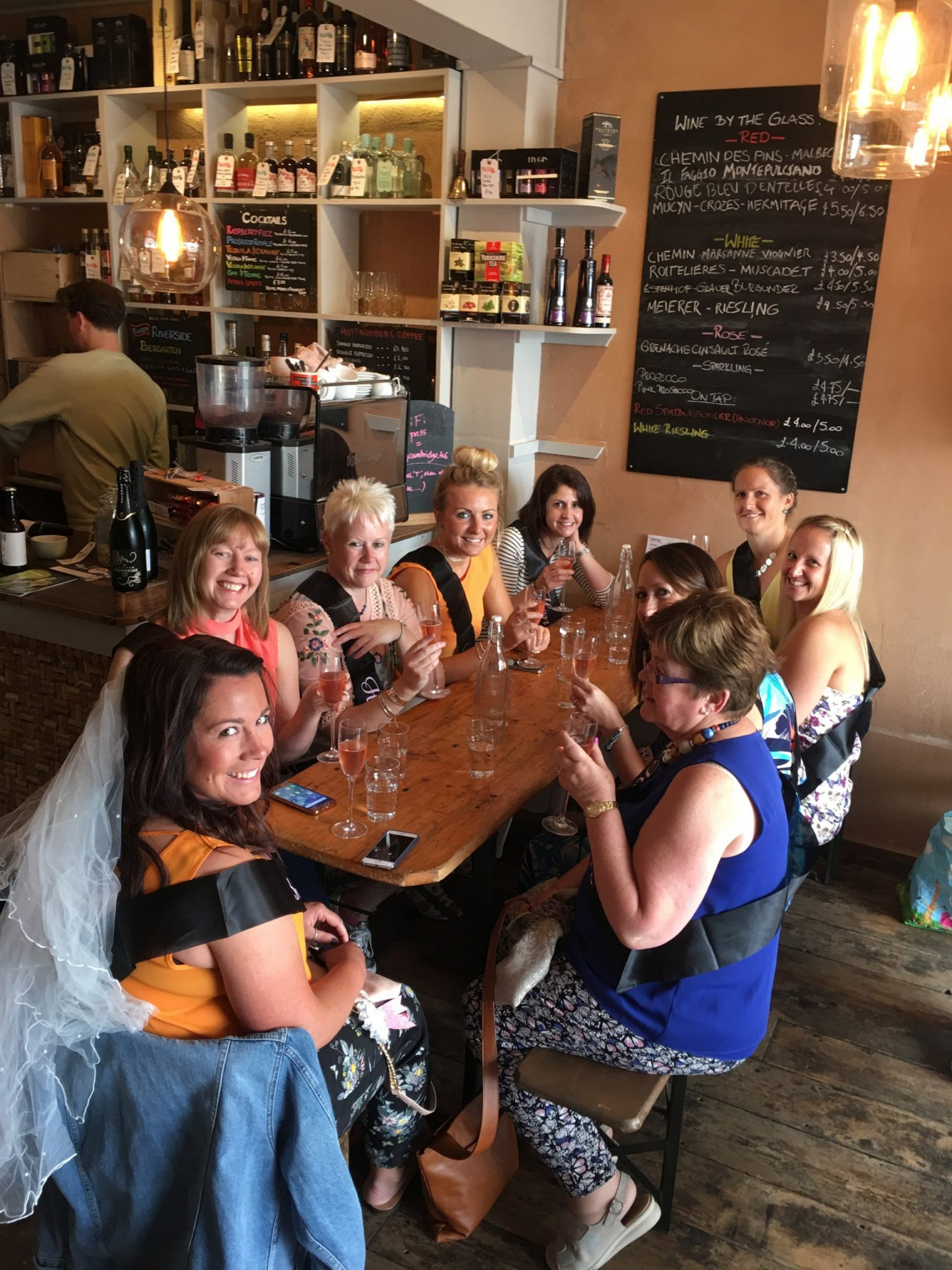cambridge food tour hen party