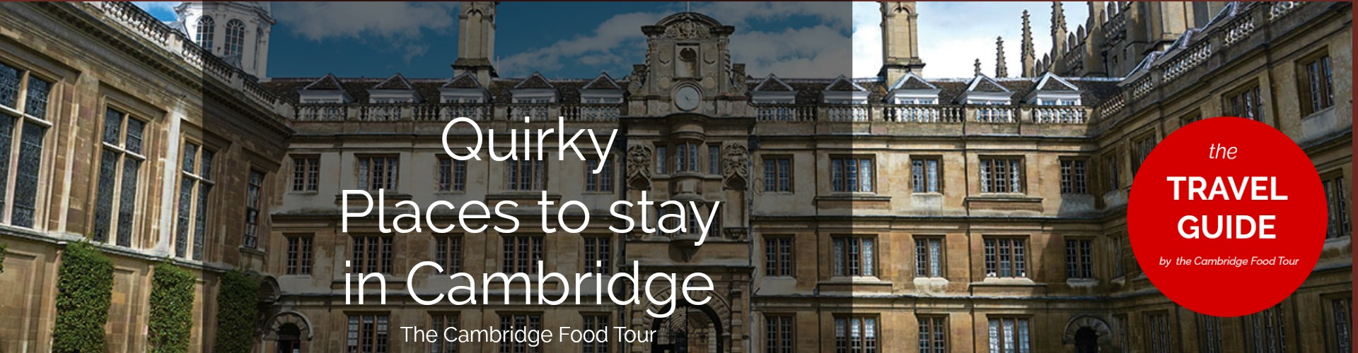 Cambrigde Travel guide Quirky places jpeg