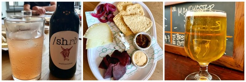 Cambridge food tour pint shop launch sharing platters