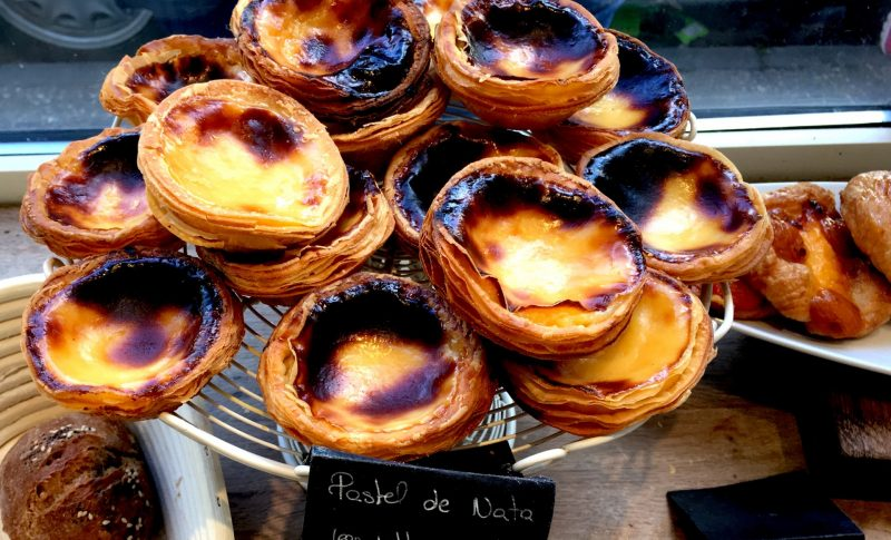 cambridge food tour pastel del natte