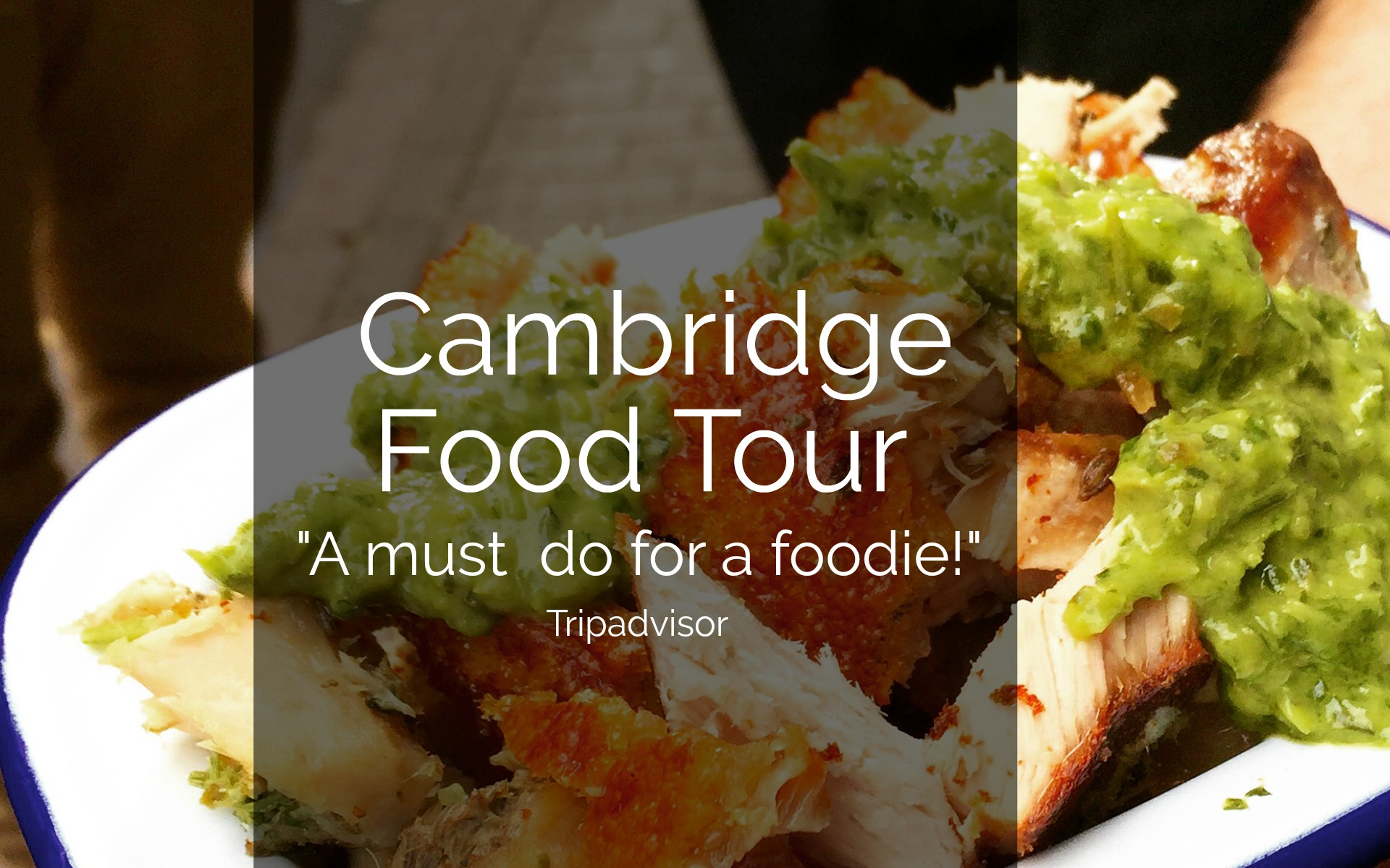 Cambridge Food Tour