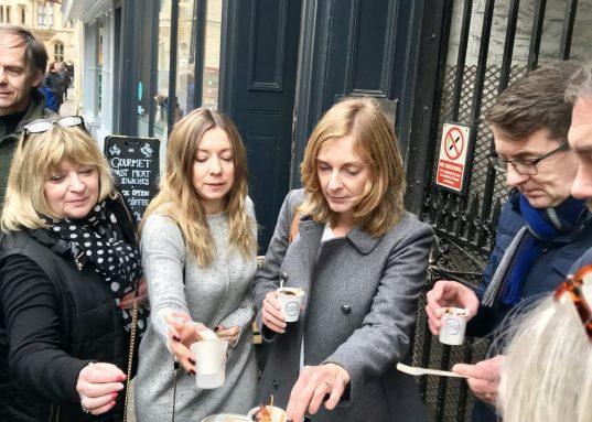 cambridge food tour walking tours