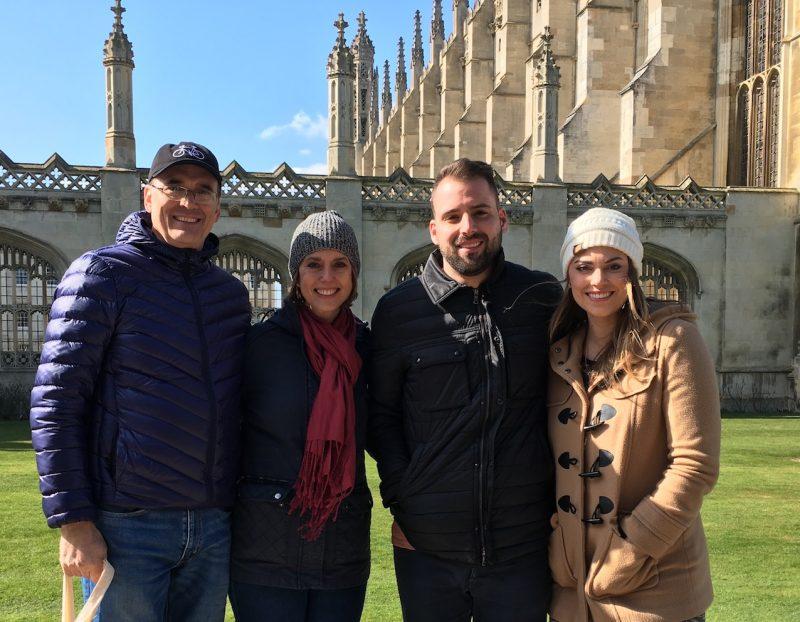 Cambridge Food Tour guests