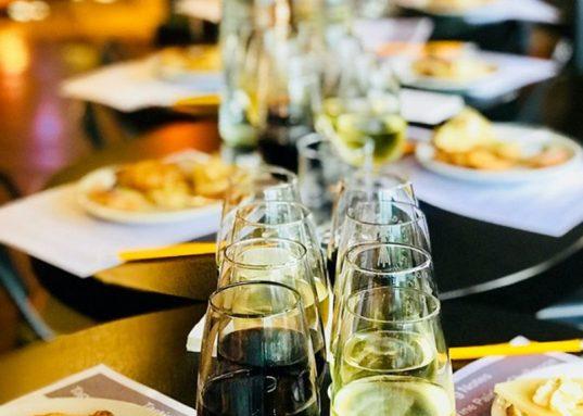 Cambridge food tour wine tasting