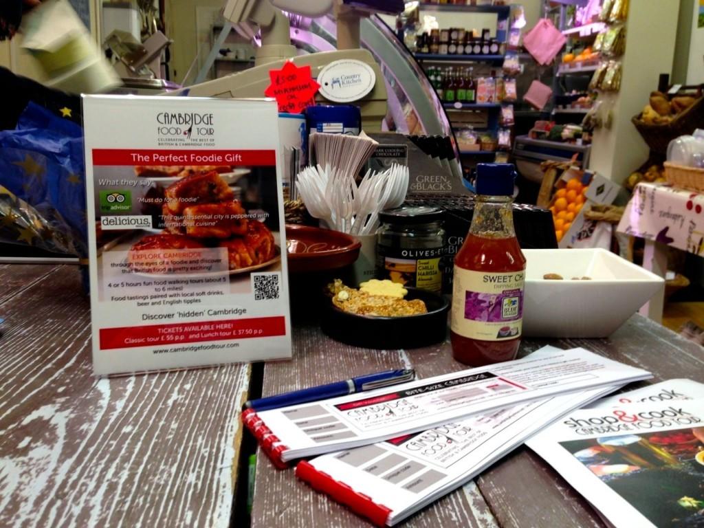 Cambridge food tour Shops Country kitchen106