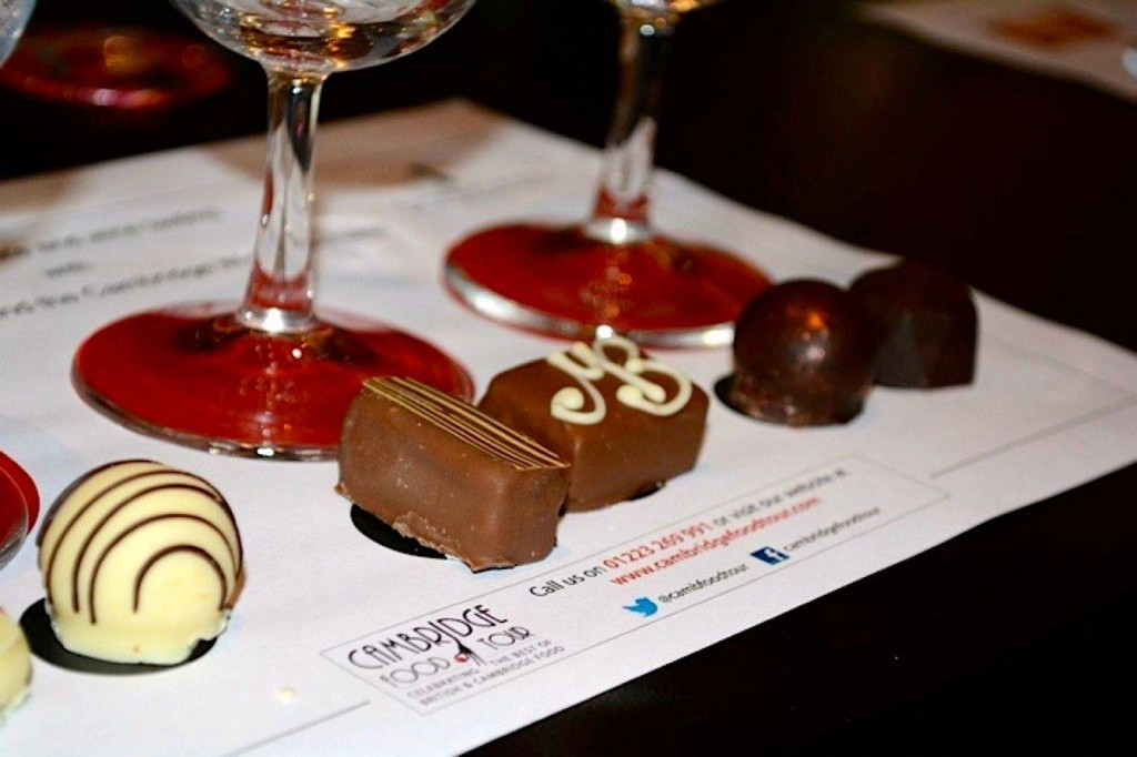 Chocolate and wine tasting