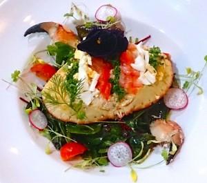 Coast main crab salad