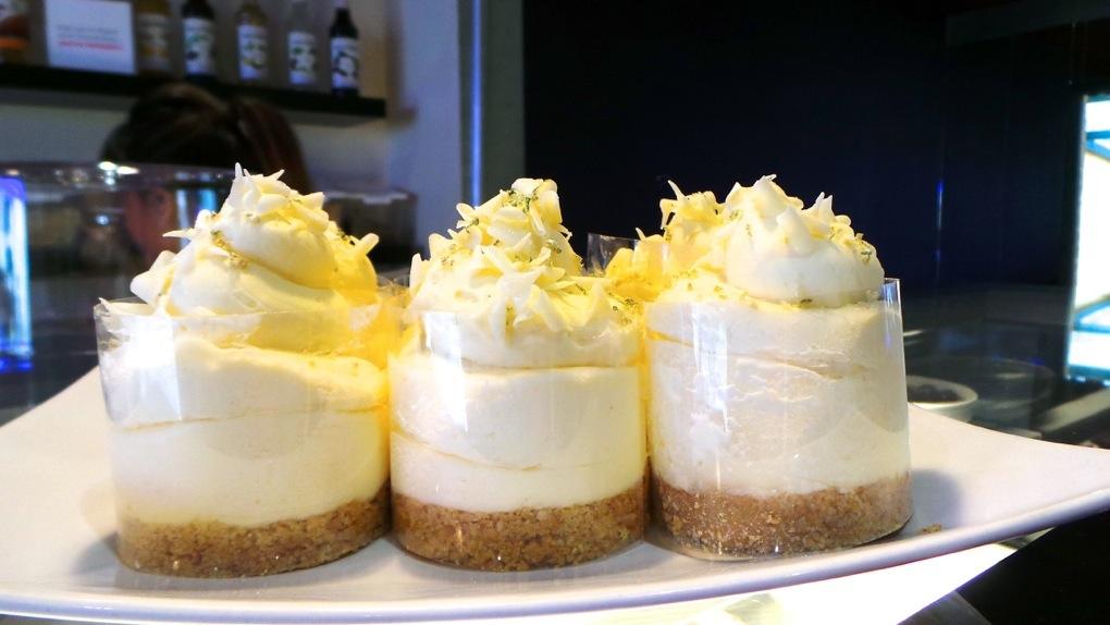 Entice desserts