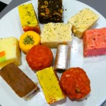 Entice plate of Indian sweets