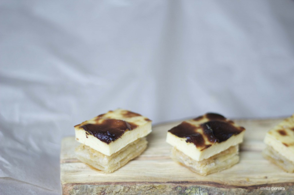 Pastel de nata on our Portuguese Pestico Masterclass