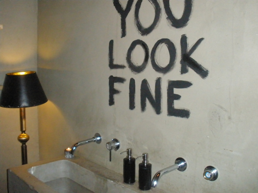 Quirky Bathroom Mirrors quirky toilets in cambrige - cambridge food tour